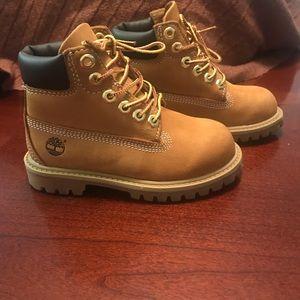 "Timberland 6"" Premium Waterproof Boots toddler 9"
